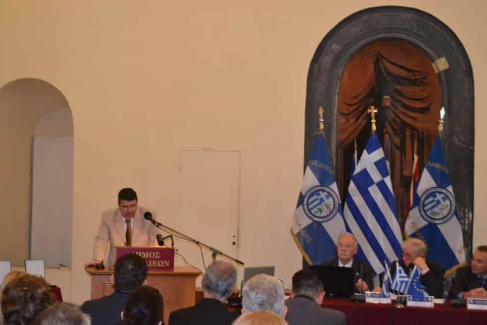 Χαιρετισμός Προέδρου Π.Ο.Α.Σ.Α. στην 1η Περιφερειακή Συνδιάσκεψη Συνδέσμων - Ενώσεων Νοτίου Ελλάδος